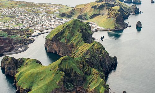 Tiny town hidden among these beautiful islands.