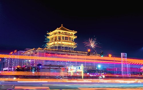"""Museum In Old City, Chifeng..  Capture during """" Lantern Festival """""""
