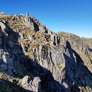 Crinkle Crags the Langdales
