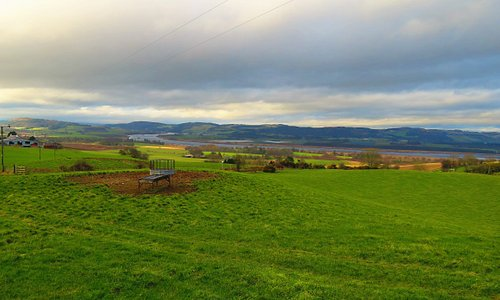 view up the Earn valley