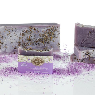 Olive oil lavender soap - An olive oil based soap making classes are suitable for age 18 +