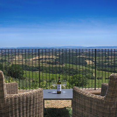 Agriturismo panoramic terrace