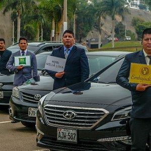 100% professional drivers