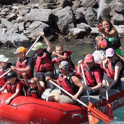 Half day whitewater trip loaded with fun.  You're sure to have a great time with our knowledgeable guides.