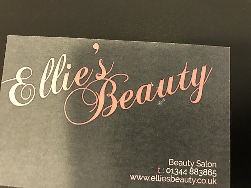 """Ellie's Beauty is owned and run by an enthusiastic Ellie. I have pedicure every 6 weeks to keep my feet tip-top. She always cuts my toenails and creams my feet, I know that's what a pedicure is but I can't stand my feet being touched !!she knows that and is always """" gentle """".  Ellie does various procedures for the ladies, waxing, nails painted etc. Always a cup of coffee offered which makes one feel special and is very welcome.  Never heard a bad word said about this beauty salon. Don't miss it"""