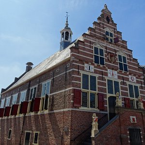 Stadhuis van Oudewater uit het jaar 1588;gerestaureerd 1887
