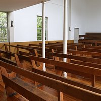Interior of Quaker Meeting House