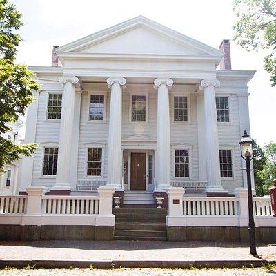 Exterior of NHA Hadwen House