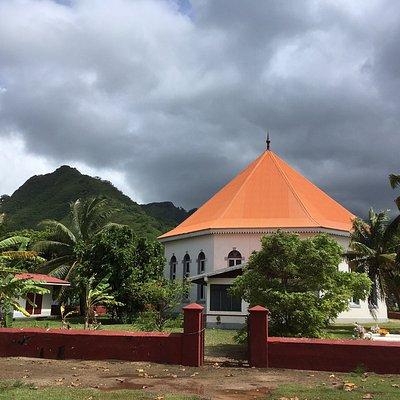Temple protestant de Papetoai