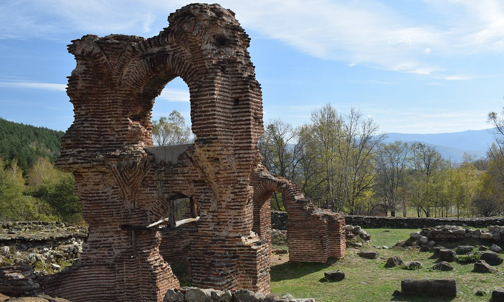 St. Helena Basilica. Located on E871, between Pirdop and Anton. Close to Koprivshtitsa.