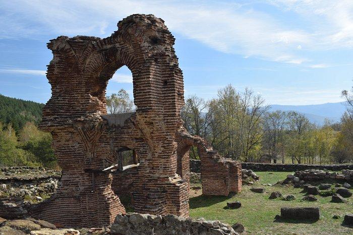 St. Helena Basilica. Located on E871, between Pirdop and Anton. Close to Koprivshtitsa.
