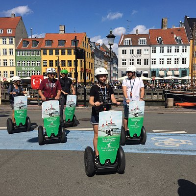 You will experience colorful and well-known Nyhavn on both the 1-hour and 2-hour Segway tours in Copenhagen, and we will show you where not only our beloved fairytale king HC Andersen lived, but also our Prime Minister of Denmark. So get ready to cruise the streets of Copenhagen!