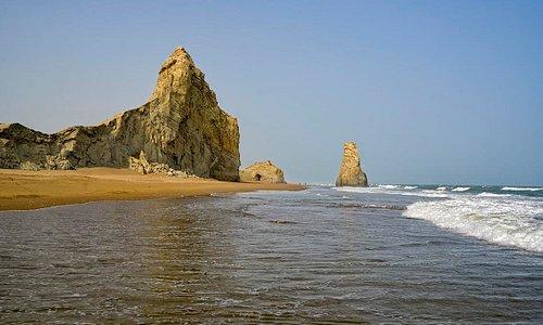 A View of Sapat Beach.