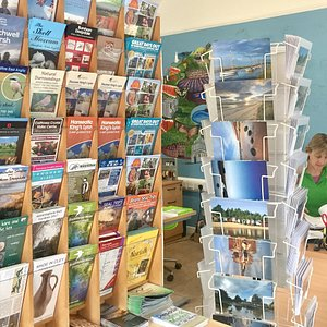 Call in for information, leaflets, maps and guide books