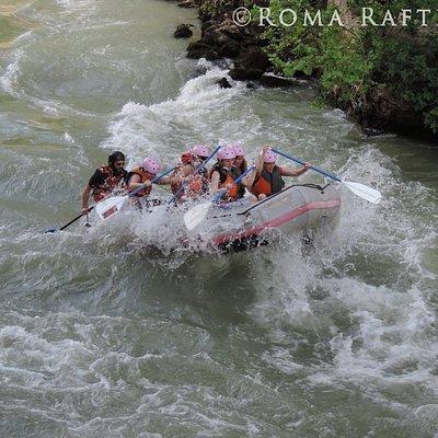 La rapida sotto Ponte Fabricio (Isola Tiberina)