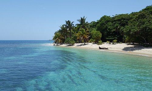 Ilhas Cayos Cochinos - Hoatan/Honduras