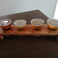 Taste your own selection of four beers