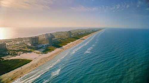 South Padre Island, the world's longest barrier island, is part of Texas' 600 miles of coastline.