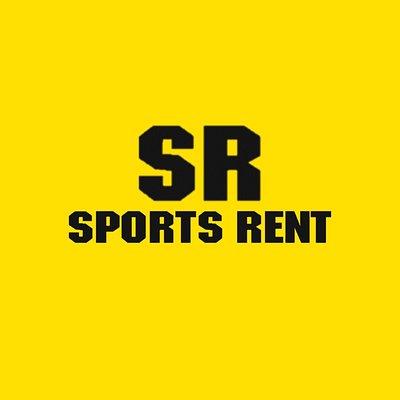 The legendary Sports Rent logo!