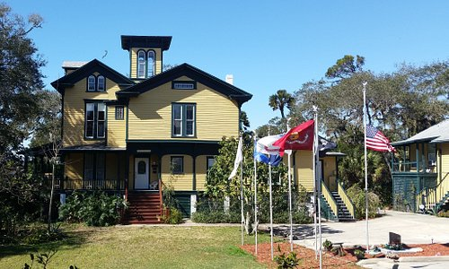 """""""Step back into the past"""" Visit the oldest historical site on Daytona Beachside!  Lilian Place1884 Museum open daily (except Tuesday)  1-5pm ($5 for tour) 2.5 acres on riverfront Victorian Tea 3rd Tuesday of month at 2pm:  RSVP 386-256-4819 History Winedown:  3rd Wednesday of month at 5:30pm Rent the 1905 Cultural Center for events and weddings.  1000 S Peninsula Dr,  Daytona Beach, FL 32118 admin@lilianplacehc.org www.lilianplacehc.org"""