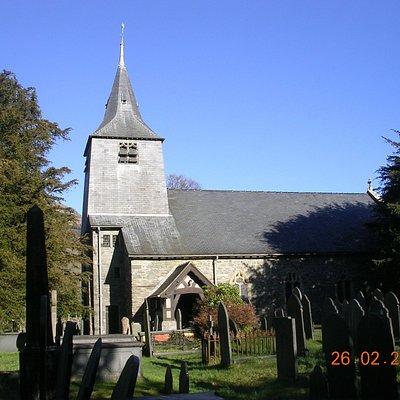 Entrance to St Twrog's Church (Maentwrog)