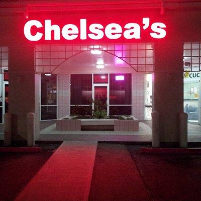Chelsea's Bar . West Shore Plaza SMB. Grand Cayman Opening Hrs. Mon - Fri: 5pm - 2am Sat & Sun: 6pm - 12am