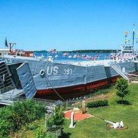 USS LST 393 Veterans Museum in Muskegon, Mich.