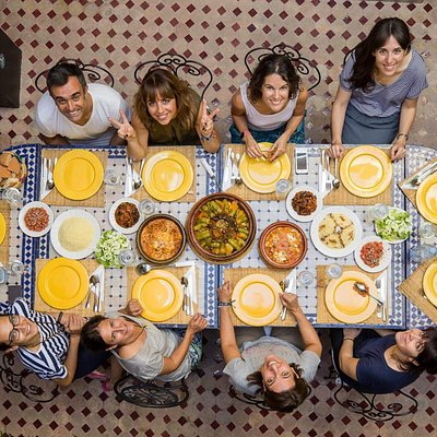Lunch in medina