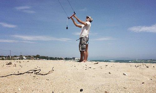 Right Stuff Surf Shop kitesurfing lessons