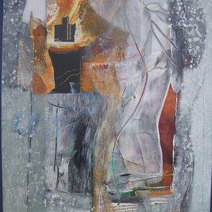 F-6 format Acryl på dukpannå    år 2012 Privat . Zdravko Jojic akademi konstnär i fry konst
