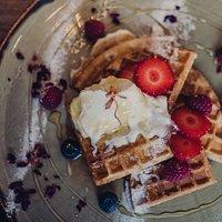 Belgian Waffles  |  International All Day Breakfasts