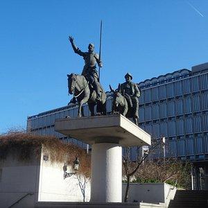 Monument of Don Quixote and Sancho Panza