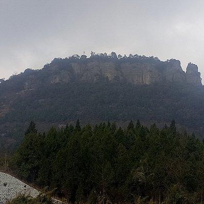 Jiangyou Geological Park