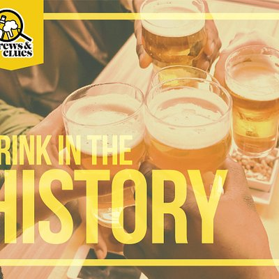 Drink in the history of Boston with Brews & Clues!