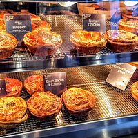the pies!