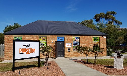 The Pooseum in Richmond, Tasmania is a new and unique science museum dedicated solely to animal droppings.