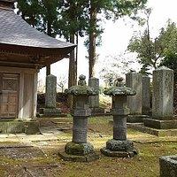 秋田氏の墓所
