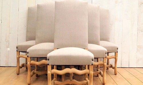 mid century os de mouton chairs