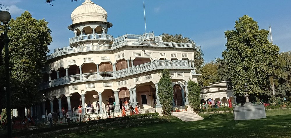 Anand bhawan museum the place of our first prime minister Jawahar Lal Nehru's house in Prayag Raj,Utter pradesh India.