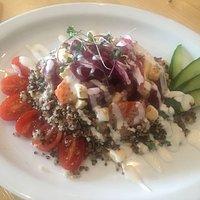 Quinoa salad (cold)