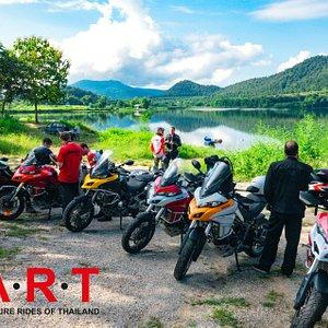 Premium Ducati tours in Thailand.