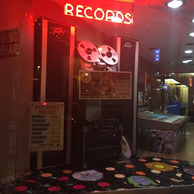 JDCRecords.com is across the street from the historical Warner Grand Theatre in San Pedro, Los Angeles, CA.