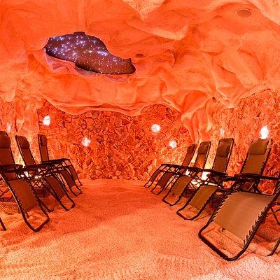Our amazing, unique, therapeutic salt cave