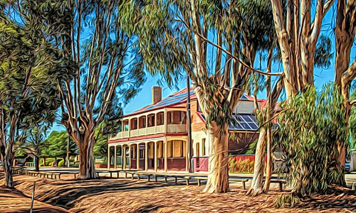 Beautiful old federation building in Brookton. Offers fabulous accommodation with yummy breakfasts.