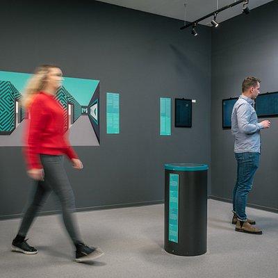 Over 70 interactive exhibits.