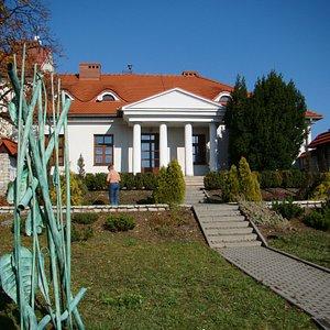 Dworek Machnickich - siedziba Muzeum Twórczości Władysława Wołkowskiego w Olkuszu