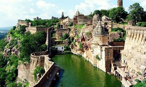 Chittorgarh Fort is one of the largest fort of India. The fort was the capital of Mewar and is located in the present-day town of Chittor.