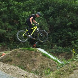 One of the jumps