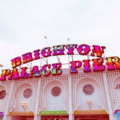 Brighton Palace Pier is Britain's most visited tourist attraction outside London!