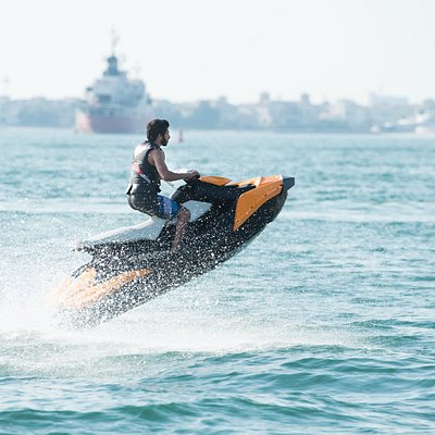 If you are looking to capture the beauty of Jumeirah Beach, Scenery of Dibba Mountains or the dazzling beach at Ras Al Khaimah the best way to capture it is from the ocean by riding our Jet Ski.
